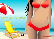 Free eCards Holidays - Enjoy Your Summer,