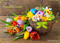 Free eCards, Easter e-cards - A Peaceful Easter,