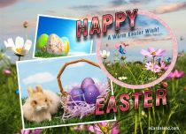 Free eCards, Easter e-cards - A Warm Easter Wish,