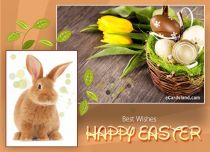 eCards Easter Best Wishes, Best Wishes