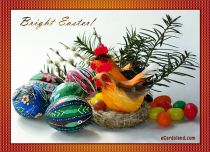 eCards Easter Bright Easter, Bright Easter