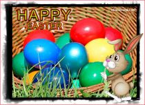 eCards  Colorful Easter,