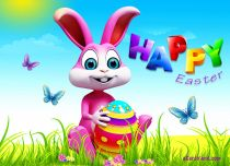 Free eCards - Colorful Easter,