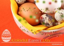 eCards Easter Colorful Easter Day, Colorful Easter Day