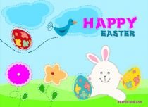 eCards  Colorful Easter Wishes,