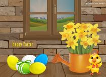 Free eCards - Easter at Home,