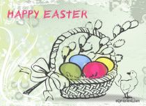 Free eCards - Easter Basket,