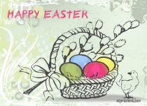 eCards Easter Easter Basket, Easter Basket