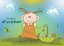 Free eCards - Easter Ducks,
