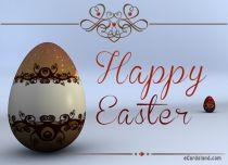 eCards Easter Easter Egg, Easter Egg