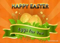 Free eCards - Easter Eggs Card,