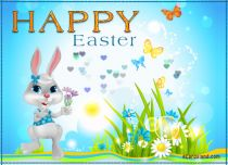 eCards Easter Easter Flowers and Wishes, Easter Flowers and Wishes