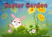 eCards  Easter Garden Of Wishes,