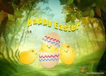 eCards Easter Easter Glade, Easter Glade