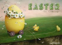 Free eCards, Easter ecards free - Easter is Coming,