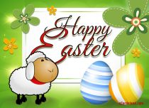 Free eCards - Easter Lamb,