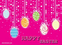 Free eCards - Easter Pendants,