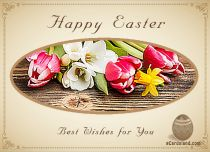 Free eCards - Easter Post Card,