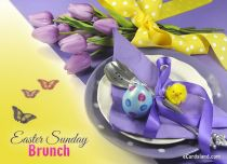 Free eCards - Easter Sunday Brunch,
