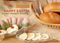 eCards Easter Easter Sunday Brunch, Easter Sunday Brunch