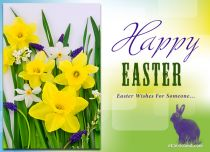 Free eCards, Easter cards - Easter Wishes For Someone,