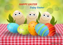 eCards Easter Enjoy Easter, Enjoy Easter