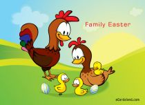 Free eCards - Family Easter,