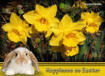 Free eCards - Happiness on Easter,