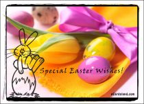 eCards Easter Happy Easter Rabbit, Happy Easter Rabbit
