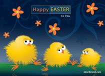 eCards  Happy Easter to You,
