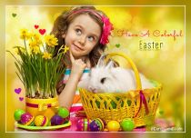 Free eCards, Easter cards messages - Have A Colorful Easter,
