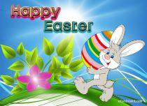 Free eCards - I am Sending Easter Egg,