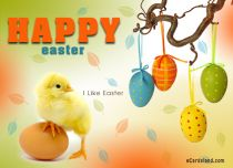 eCards  I Like Easter,