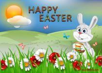 eCards Easter In Easter Grass, In Easter Grass