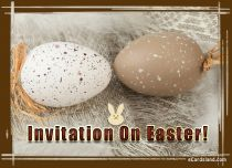 eCards Easter Invitation On Easter, Invitation On Easter