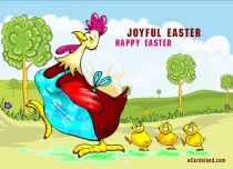 eCards Easter Joyful Easter, Joyful Easter