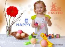 Free eCards - Painted Eggs,