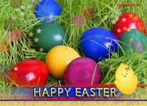 Free eCards - Rainbow Easter,