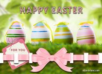 Free eCards, Easter cards messages - Rainbow Easter Greetings,