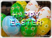 eCards  Sparkling Easter Wish,