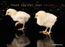 eCards  Thank You For Your Easter,