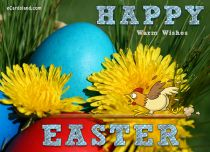 eCards Easter Warm Wishes, Warm Wishes