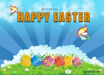 eCards Easter Wishing You, Wishing You