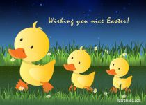 eCards Easter Wishing You Nice Easter, Wishing You Nice Easter