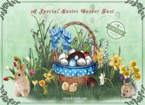 eCards Easter A Special Easter Basket Just, A Special Easter Basket Just