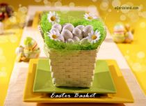 eCards Easter Easter Basket, Easter Basket