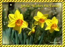 Free eCards - Joyful Wishes On Easter,