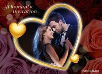Free eCards, Free invitations ecards - A Romantic Invitation,