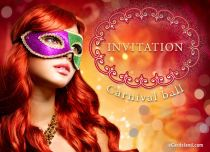 Free eCards, Invitations ecards - Carnival Ball,