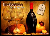 Free eCards, Free invitations ecards - Invitation For An Eat Out,